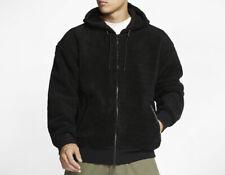 Nike SB Sherpa Zip Hoody Jacket CJ6600-010 Black Colour Size XL New