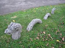 loch ness monster stone garden oenament