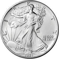 1991 American Silver Eagle - Brilliant Uncirculated