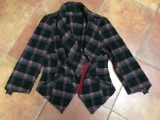 Top Shop Checked Jacket, Size 12