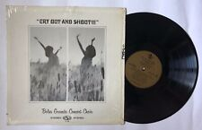 BOLSA GRANDE CONCERT CHOIR Cry Out And Shout LP NCR 12898 US 1969 VG+ 03F