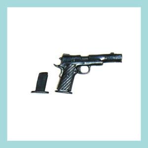 Mezco Exclusive ONE:12 Baker's Dozen – Handgun with extended barrel & Extra Clip