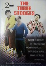 EUC THE THREE STOOGES VOLUME ONE & TWO