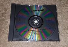 2pac Outlaws-Baby Don't Cry RARE Promo CD 1999 Keep Ya Head Up II Hip-Hop Rap
