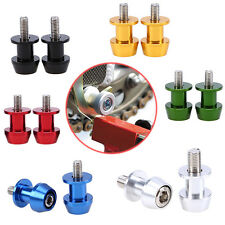 Motorcycle 8mm CNC Swingarm Spools Sliders Fit HONDA CBR1000RR 250R 600RR YZF YZ