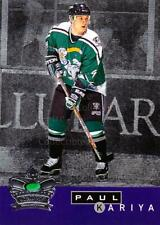 1995-96 Parkhurst Crown Collection Silver Series 2 #4 Paul Kariya