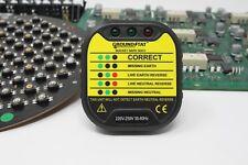 Socket Safe Test UK Plug - Manufactured by GroundStat™