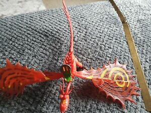 How to Train Your Dragon Red Hookfang 2014 Action Figure Toy Dreamworks (p9)