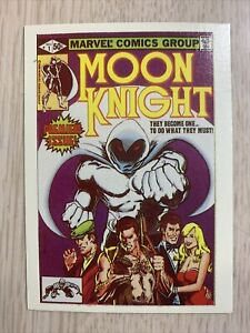 MOON KNIGHT #1  MARVEL SUPERHEROES FIRST ISSUE COVERS  NM 1984 BEAUTIFUL