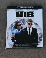 MIB INTERNATIONAL 4K ULTRA HD + BLU-RAY + DIGITAL W/SLIPCOVER BRAND NEW SEALED