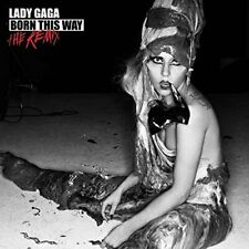 Lady Gaga - Born This Way - The Remix ** Free Shipping**