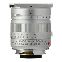 TTArtisan M35mm f/1.4 Full Frame Lens for Leica M (Silver)