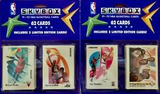 33 count lot of 1991-92 Skybox Basketball Blister Packs 62 Cards Per Pack