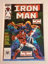 IRONMAN #200 VL1 TONY STARK RETURNS AS ORIGINAL IRONMAN NOVEMBER 1985