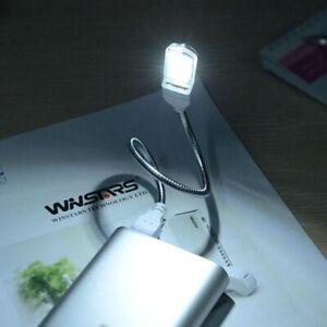 Mini USB 5V LED Lamp 24LEDs Reading Computer Power Night Desk Light E6Y4 x R3L0