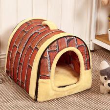 Large Pet Dog Cat Bed Cozy Nest Warm Doghouse Dog Mat Blanket Soft Cushion House