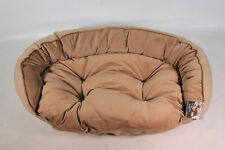 Bowsers Pet Products Crescent Dog Bed XLarge Flax