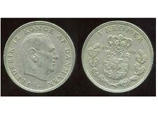 DANEMARK   5 kroner  1960