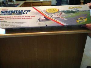 New R/C Hobbico Super Star EP - ARF Kit + Motor, Prop, ESC