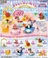 Re-ment Kirby Super Star Mini Figure Kirby's Tea Party All 8 set JAPAN OFFICIAL
