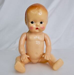 """Vintage Celluloid Baby Doll 7"""" - 82938"""