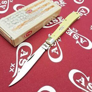 Case XX Slimline Trapper Folding Knife Carbon Steel Blade Synthetic Handle