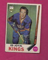 1969-70 TOPPS # 108 KINGS ED JOYAL GOOD CARD (INV# A4749)