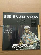 SUN RA ALL STARS LIVE IN BERLIN Don cherry Archie shepp vinyl LP new & sealed