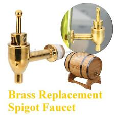Brass Replacement Spigot Faucet for Wine Barrel Beverage Drink Dispenser Tap