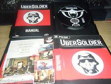 """Ubersoldier """"Raro juego de culto"""" Original Completo En muy buena condición PC Rápido Gratis ukpost"""