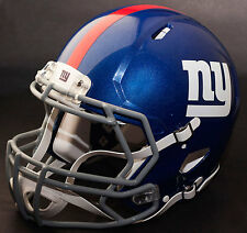 NEW YORK GIANTS NFL Authentic GAMEDAY Football Helmet w/ S2BD Facemask