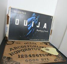 Ouija Board Vintage Mid Century William Fuld Mystifying Oracle Set Parker Bros