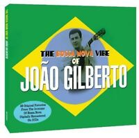 João Gilberto - Bossa Nova Vibe of Joao Gilberto [New CD] UK - Import