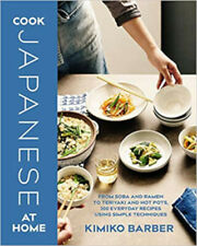 COOK JAPANESE AT HOME, New, Barber, Kimiko Book