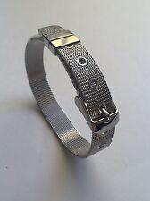 Silver Mesh Bracelet for Slide Keep Charms