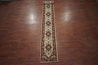 """3X20 Serapi Runner Hand-Knotted Wool Area Rug Oriental Carpet (2'7"""" x 20')"""