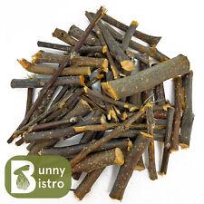 More details for apple wood chew sticks 50g - 1kg, rabbit treats, small animal, chinchilla treat