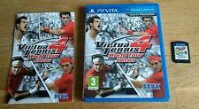 Virtua Tennis 4 -- World Tour Edition PS Vita - Complete.
