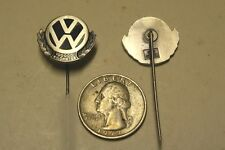 VOLKSWAGEN VW 100 KM PIN NEW OLD STOCK BADGE GERMAN AUTOMOBILE STUTTGART  AUTO