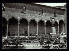 GROTTAFERRATA ROMA CARTOLINA BASILICA ABBAZIALE DI S. NILO CORTILE FG VG 1957