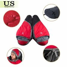 0 ℃ Degree Mummy Sleeping Bag Cold Weather Outdoor Camping w/ Carry Bag