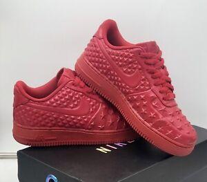 "Rare Nike Air Force 1 Low PRM "" Independence Day Red "" Size UK 6 Jordan / Dunk"