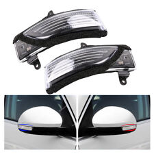 L+R Set For SUBARU Forester Impreza Legacy Outback Side Mirror Turn Signal Lens