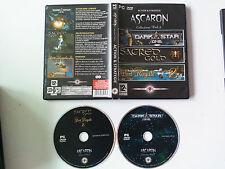 Ascaron 3 jeux Collection vol 2  : Port royale 2/Dark star one/Sacred Gold PC FR