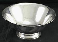 Tiffany Sterling Silver Footed Bowl Pattern 20660 5-1/2 Inches