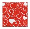 4 Motivservietten Servietten Tovaglioli Napkins Herz Herzen Liebe (484)