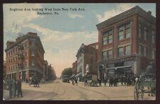 Postcard ROCHESTER Pennsylvania/PA  John A Butler & Son Clothing Store view 1907