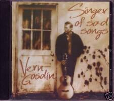 VERN GOSDIN Singer of Sad Songs 1996 Oop CD 80s Country 12 Hits