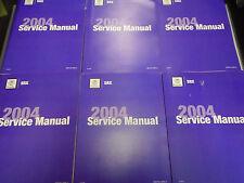 2004 Cadillac SRX TRUCK Service Repair Shop Workshop Manual Set New GM