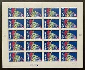 US YEAR OF THE RAM STAMPS SHEET 20V 37c MNH 2003 CHINESE LUNAR NEW YEAR CALENDAR